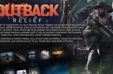 Call of Duty Modern Warfare Outback Relief Pack details