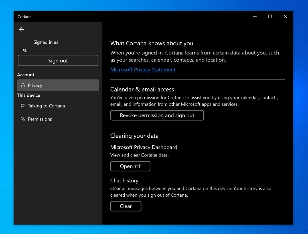 Cortana gets a significant update for Windows 10 20H1 PCs 3