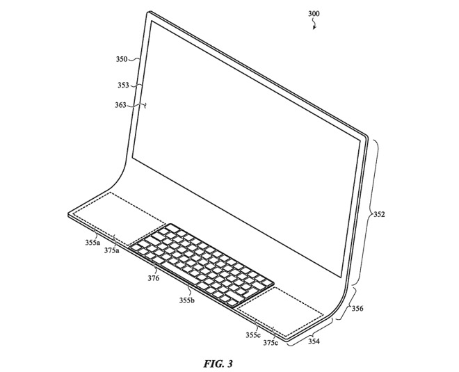 Apple's future iMac computers could be a single sheet of curved glass 2