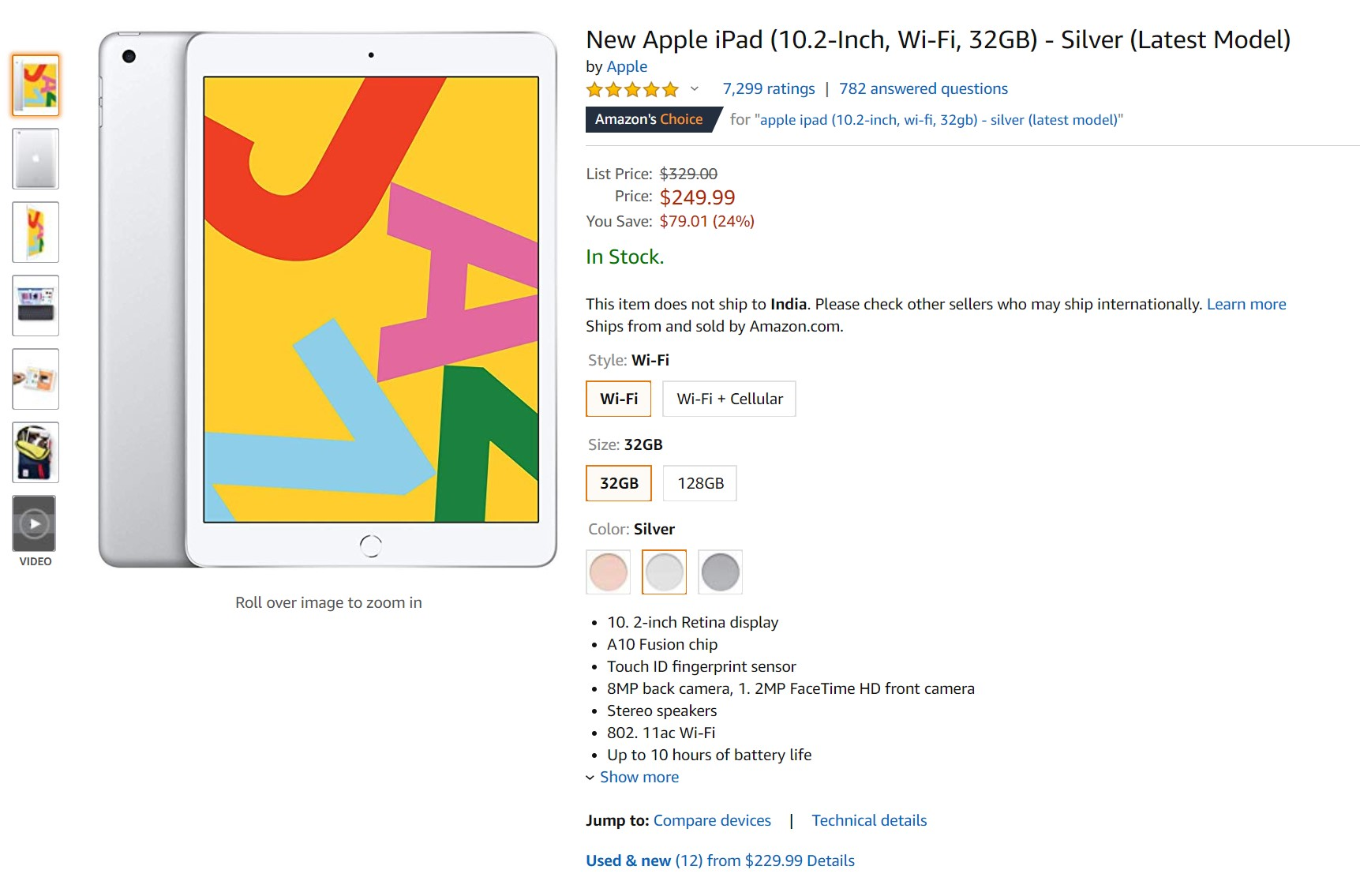 Deal Alert: The 10.2-inch iPad drops to its record low price once again 1