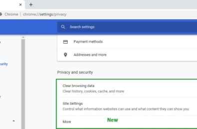 "Redesigned Google Chrome settings are ""easier to use"" 23"