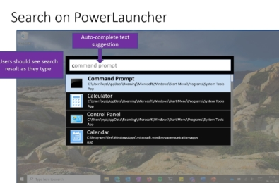 Microsoft introduce new PowerToy - PowerLauncher 4