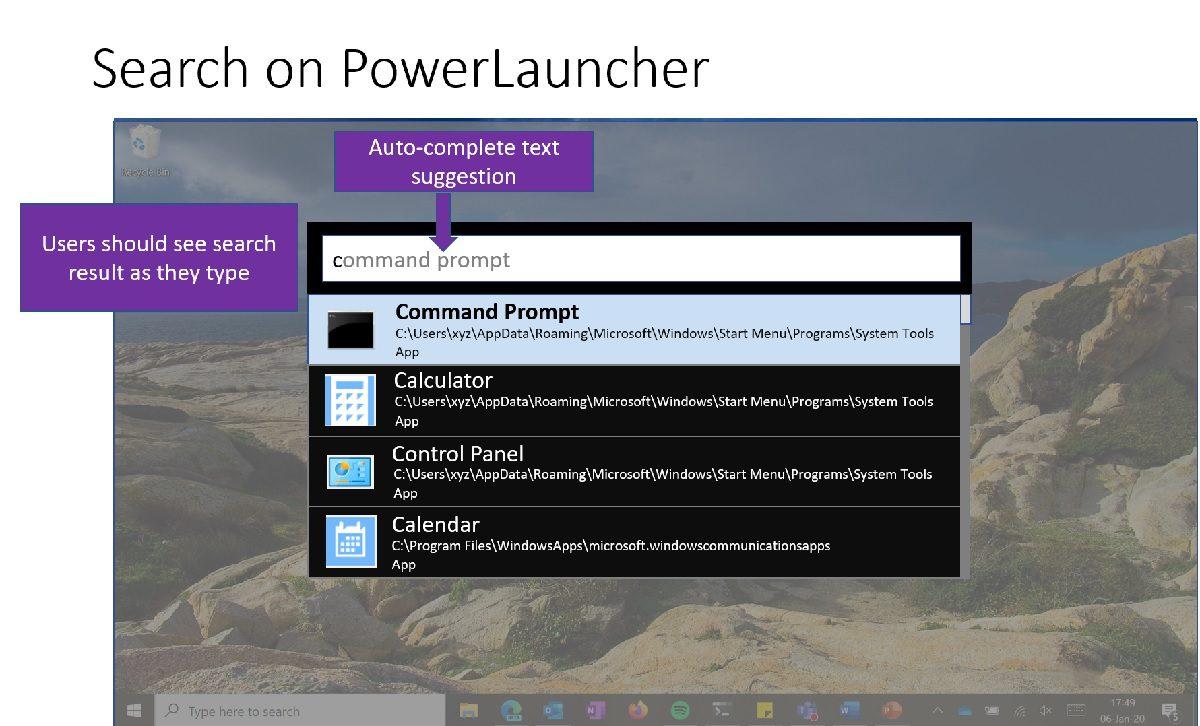 Microsoft introduce new PowerToy – PowerLauncher - MSPoweruser