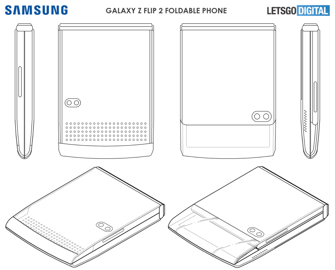 Samsung has an interesting solution for even cheaper folding smartphones 1