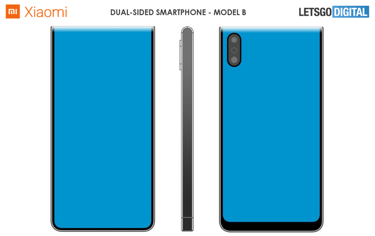 Xiaomi patents new double-sided screen designs 2