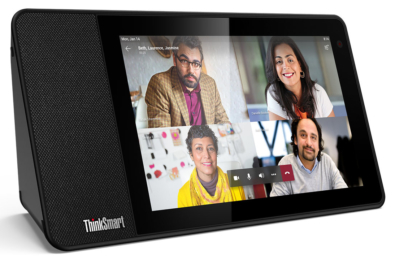 Lenovo announce ThinkSmart View Microsoft Teams video conferencing solution 24
