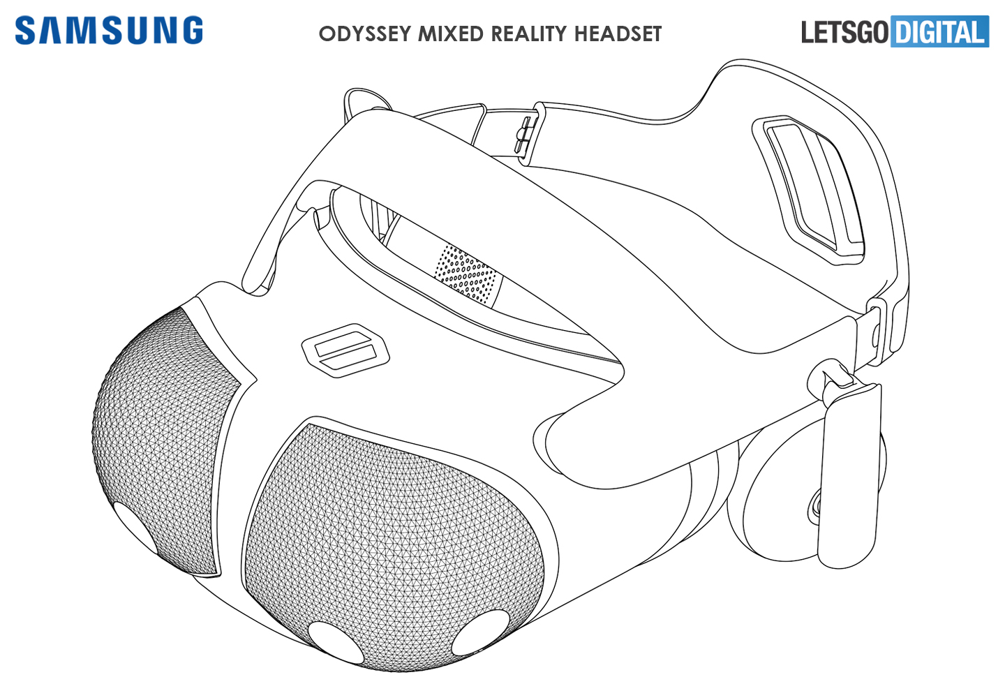 Samsung is working on a groovy new Mixed Reality Odyssey headset 2