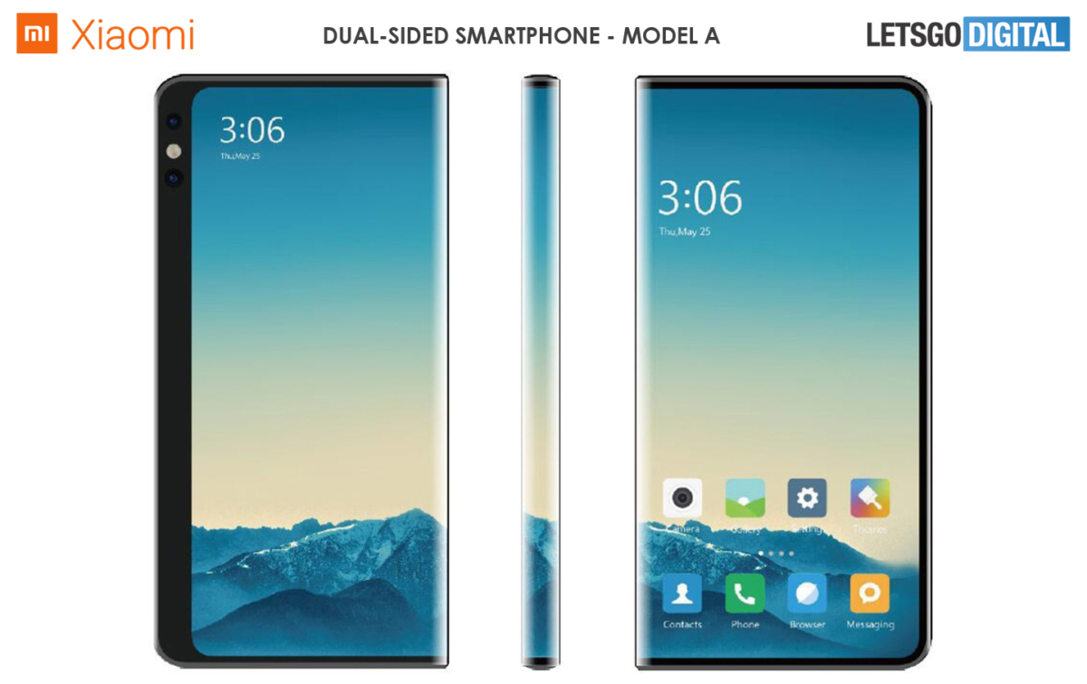 Xiaomi patents new double-sided screen designs 1
