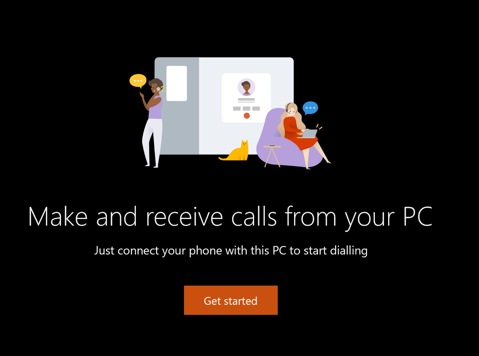 Phone calls in the Your Phone app now rolling out to regular Windows 10 users