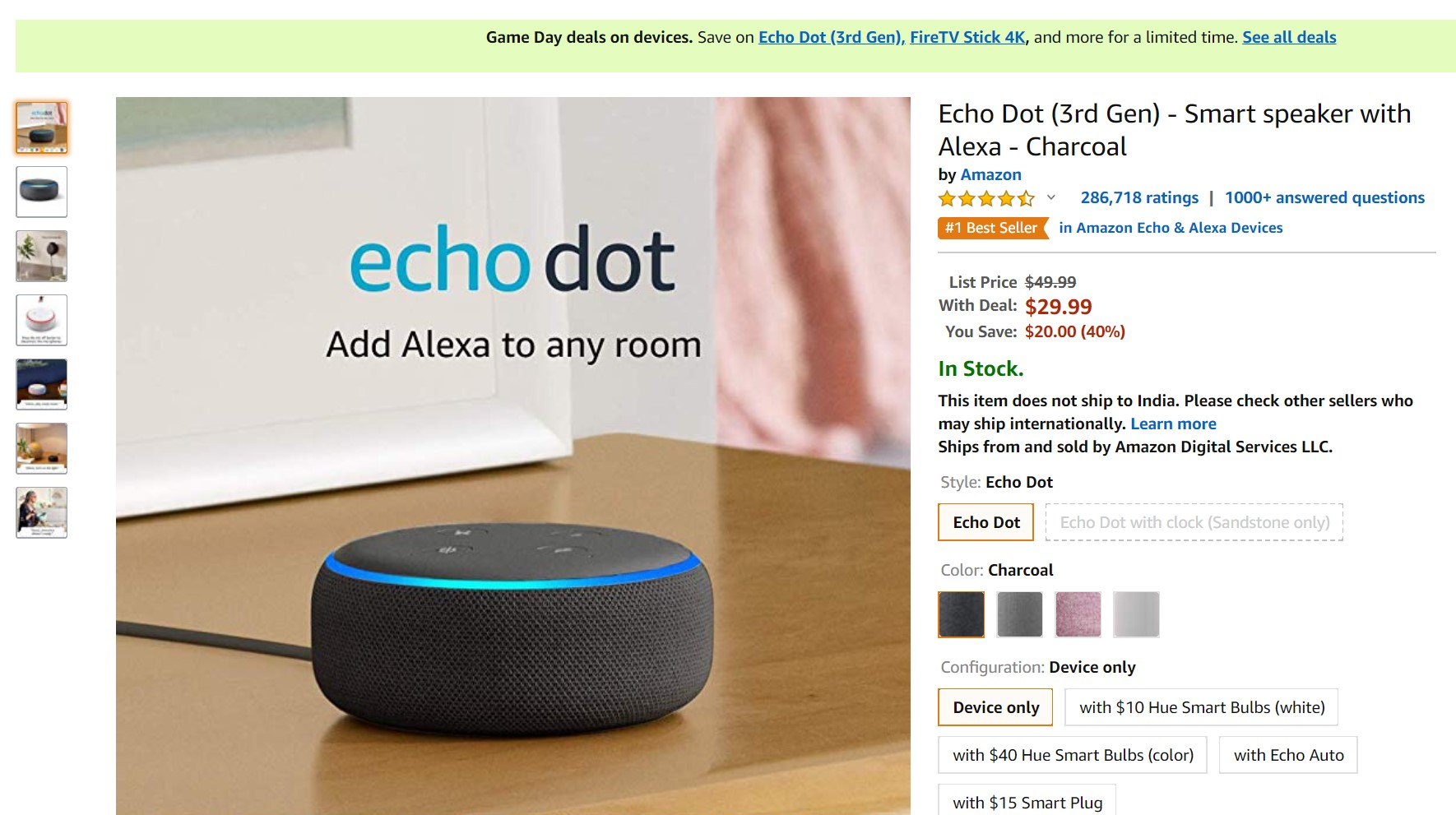 Deal Alert: Echo Dot (3rd Gen) discount is back again at ...