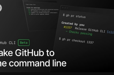 New GitHub CLI beta allows you to work with GitHub from the command line 1