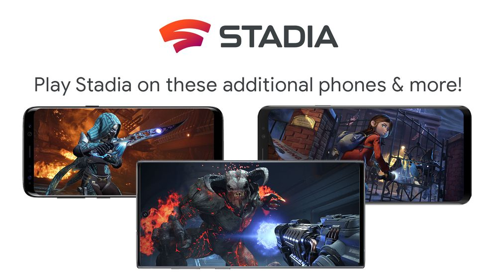 Google widens Stadia support to include 20 other Android phones