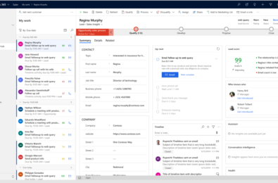 Microsoft announces several new and enhanced features across its Dynamics 365 business applications 17