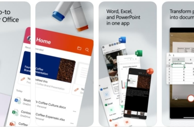 The new Office app combining Word, Excel, and PowerPoint now available for iOS devices 3