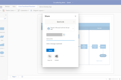 Microsoft brings real time co-authoring to Visio for the web 1