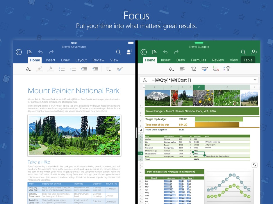 Microsoft releases redesigned Word, Excel and PowerPoint apps for iOS devices 1