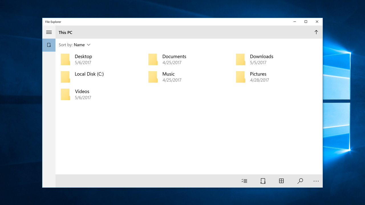Win32 File Explorer will not be the default file manager in Windows 10 X 1