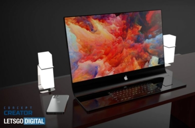 New renders show what a curved iMac could look like 3