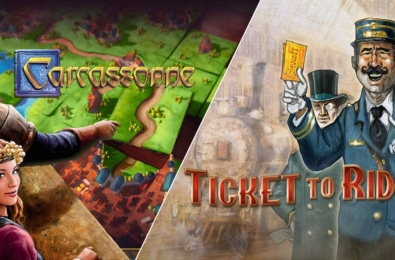 Carcassonne and Ticket to Ride have shed their price tags for a week 1