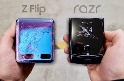 Watch the Samsung Galaxy Z Flip and Motorola Razr get drop-tested to destruction 7