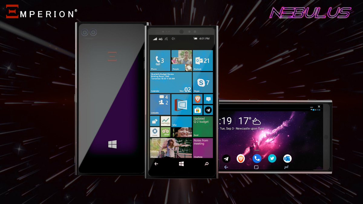 Emperion Nebulus: Company claims it is ready to offer a Windows 10 Phone 1