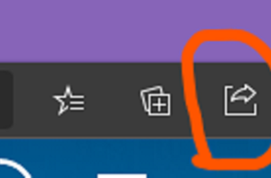 Edge Canary users rejoice over the addition of the Share button to the toolbar 5