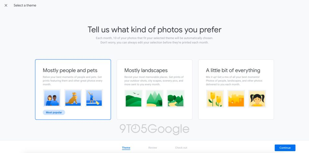 Google Photos new monthly subscription plan: Pay $7.99 a month and Google will send you prints of your best photos every month 1