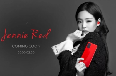 Samsung is selling a Blackpink branded Jenny Red Samsung Galaxy S20+ phone and Galaxy Buds+ bundle 8