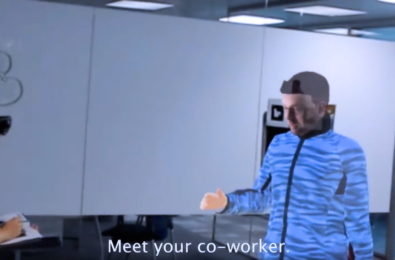 VROOM: Microsoft Research envisions a workplace filled with Telepresence Robots and AR headsets (video) 2