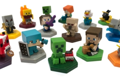 Minecraft to get adorable figurines, including NFC-enabled range 2