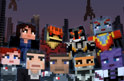 Minecraft Mass Effect Mash-up Pack