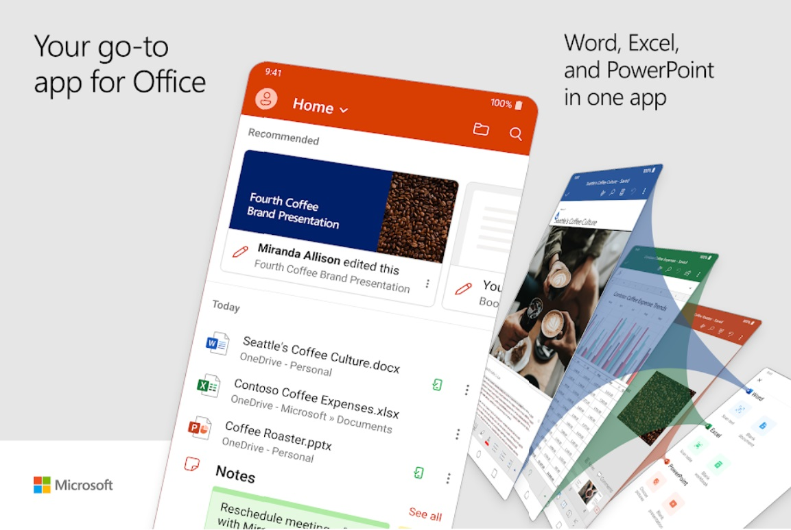 Microsoft's new unified Office app already supports dual screen Android devices - MSPoweruser - MSPoweruser