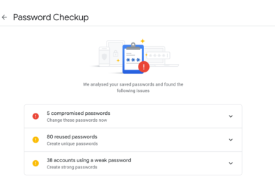 Google to bring Password Checkup to Chrome's built-in password manager 19