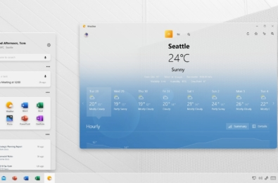 Project Acrylic concept bring the Windows 10X look to Windows 10 8