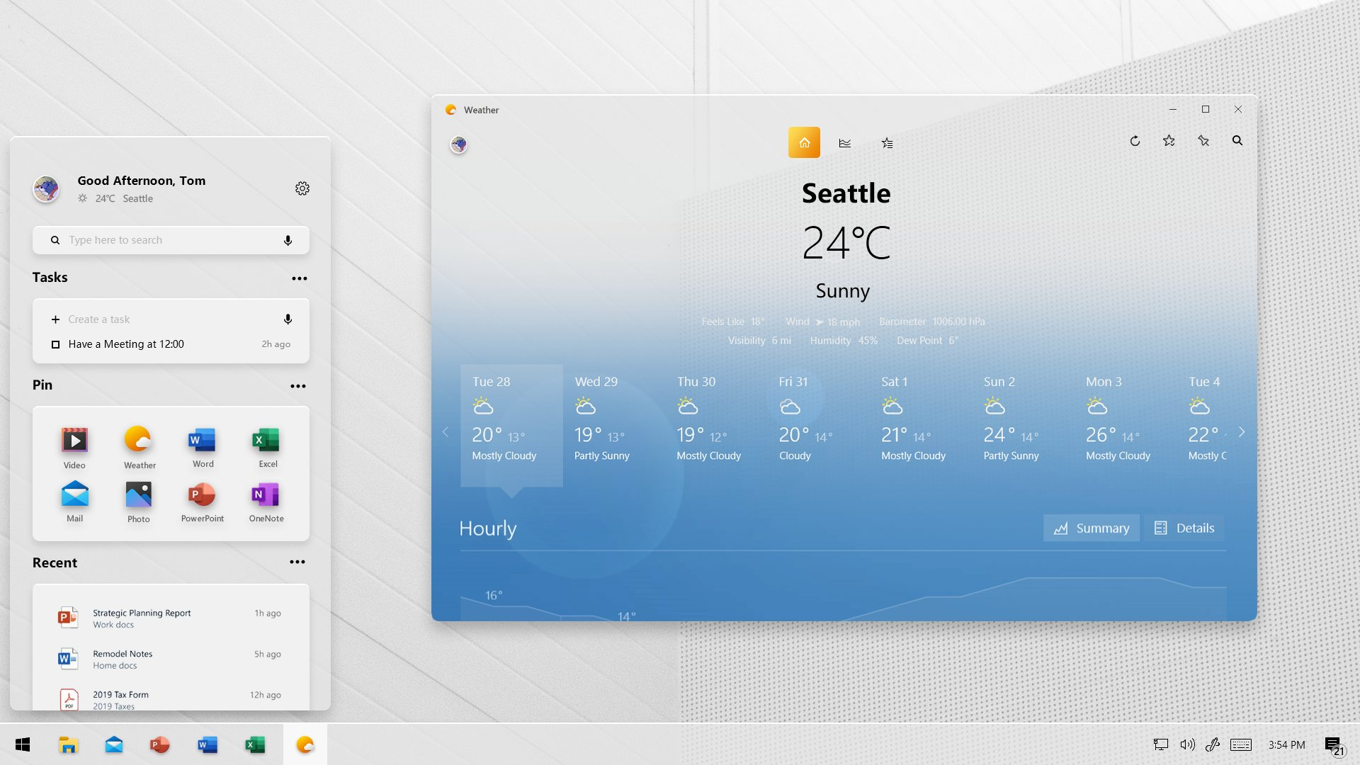 Project Acrylic concept bring the Windows 10X look to Windows 10 4