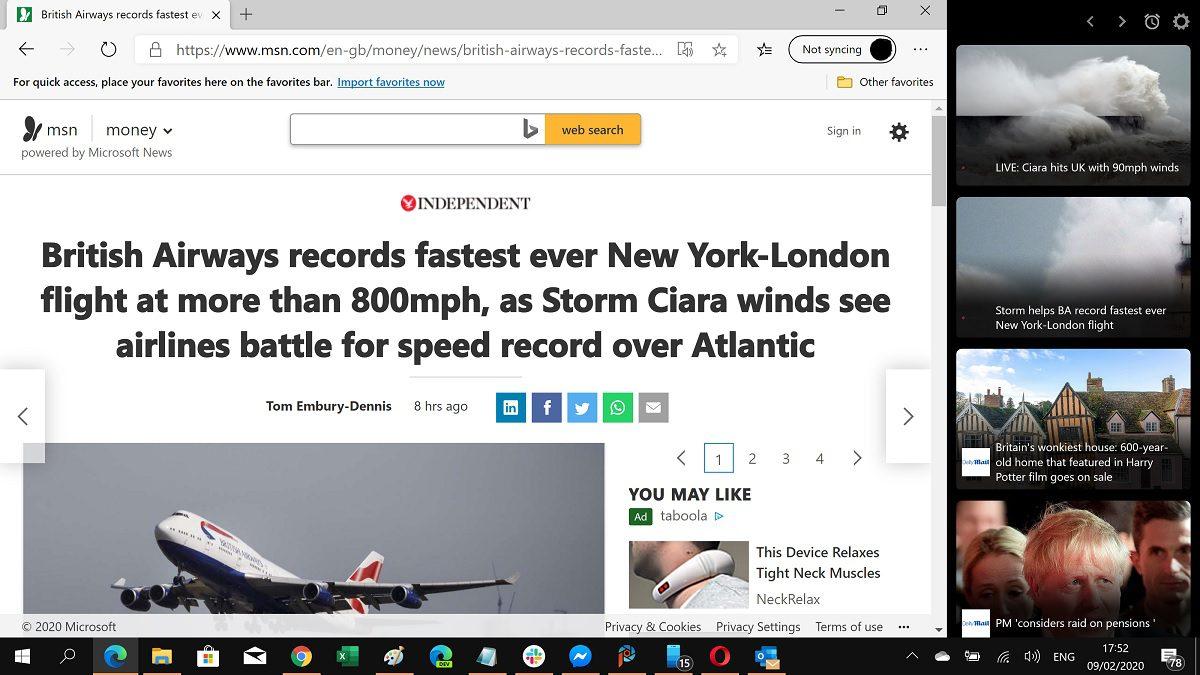 Project Newsbar: Microsoft News has a cool new desktop tool for news junkies 1