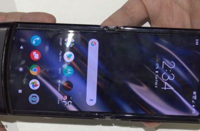 New Motorola Razr torn-down on video 9