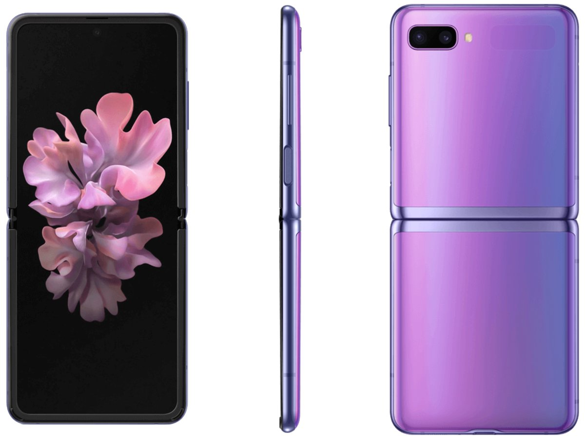 New Samsung Galaxy Z Flip high- resolution renders and new features leaked 2