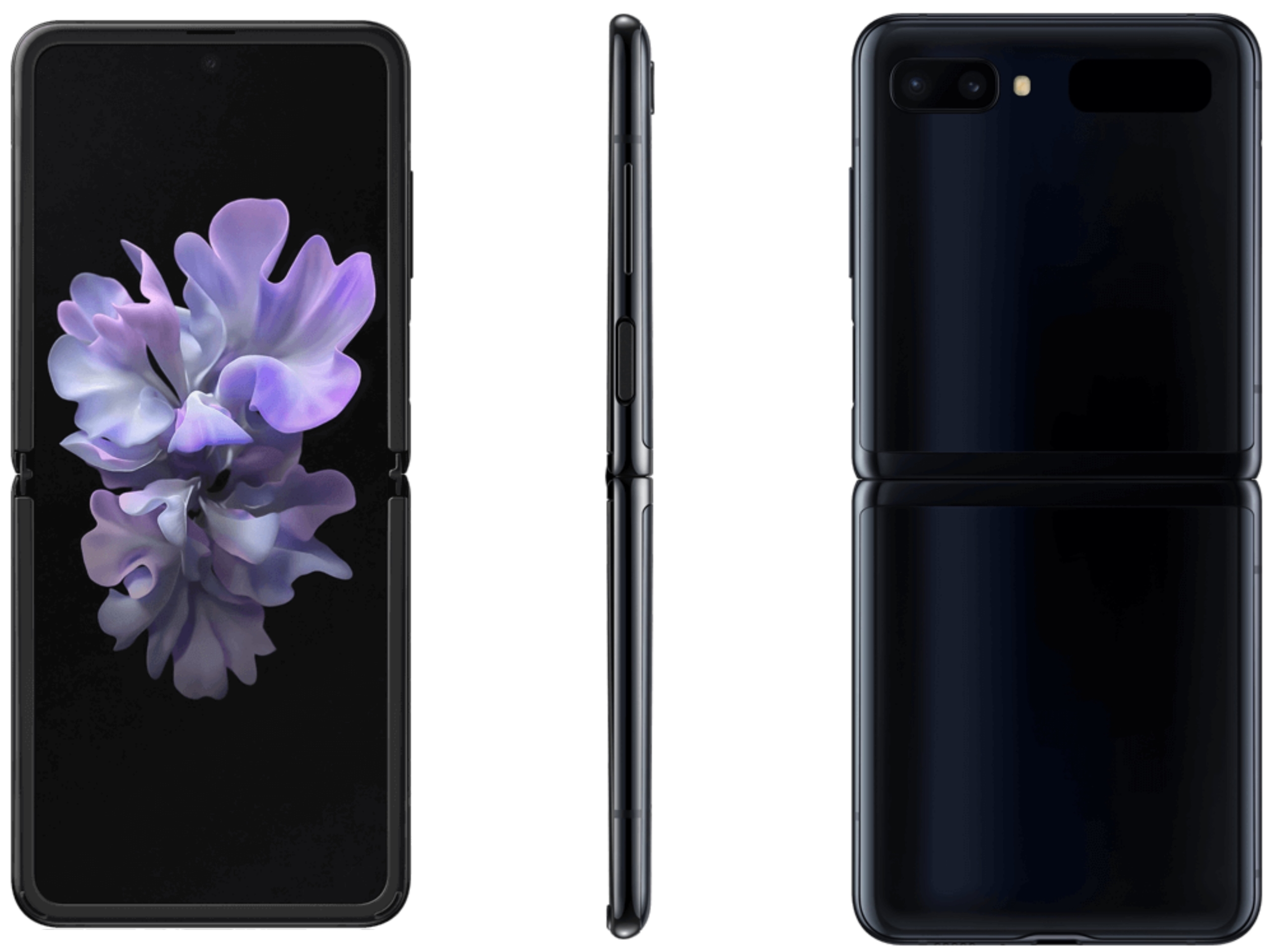 New Samsung Galaxy Z Flip high- resolution renders and new features leaked 3