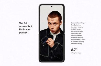 Samsung Galaxy Z Flip marketing material shows Samsung is targeting social media influencers 2