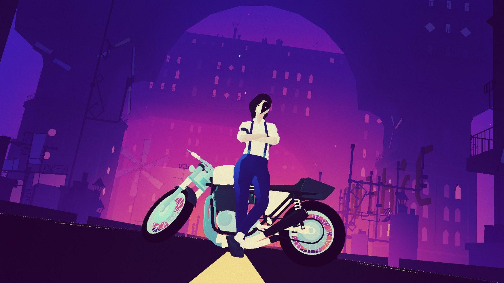 Sayonara Wild Hearts arrives on Xbox One very soon
