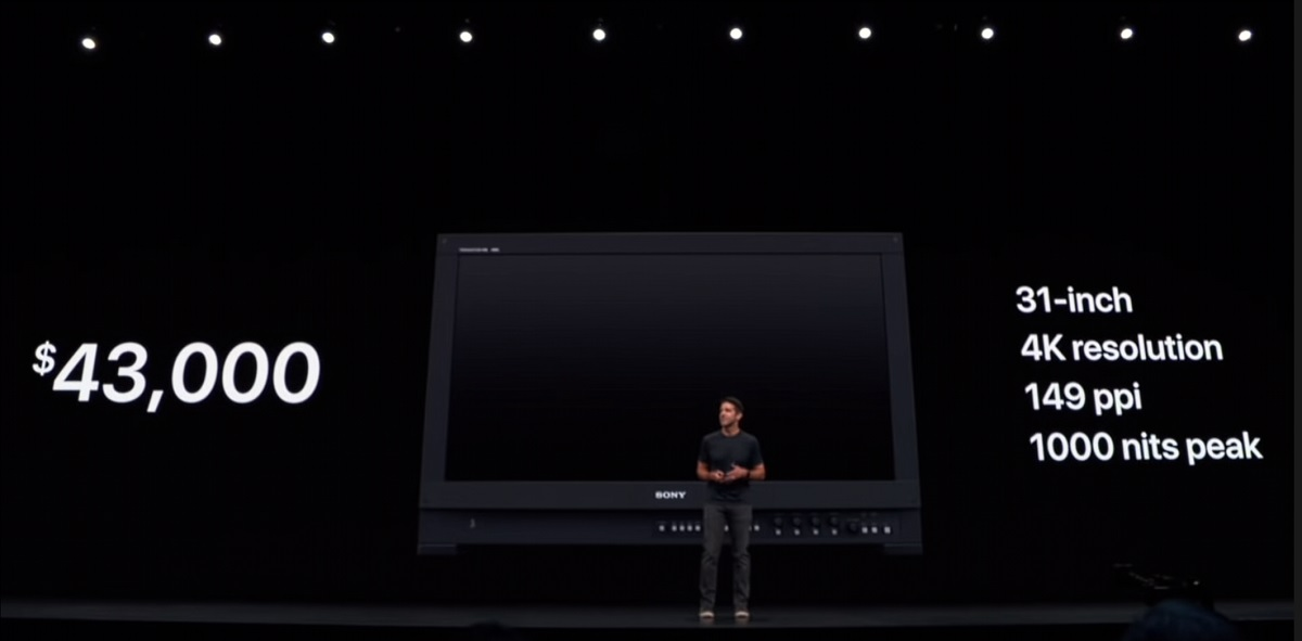 HDTVTest unsurprisingly find you can not replace a $43,000 Sony reference monitor with a $5000 Apple Pro Display XDR 1