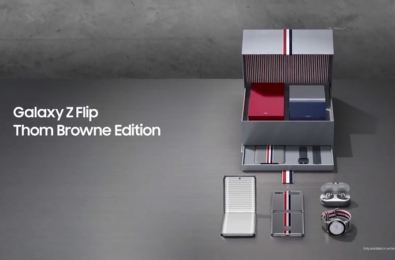 Thom Browne Samsung Galaxy Z Flip package revealed in cool ad (video) 3
