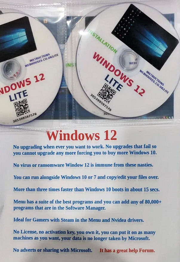 Windows 12 Lite is here, and it doesn't have any built-in ads 1