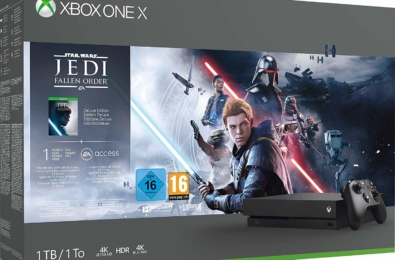 Deal Alert: Grab an Xbox One X 1TB Console and Star Wars Jedi: Fallen Order Bundle for $349 (was $499) 3