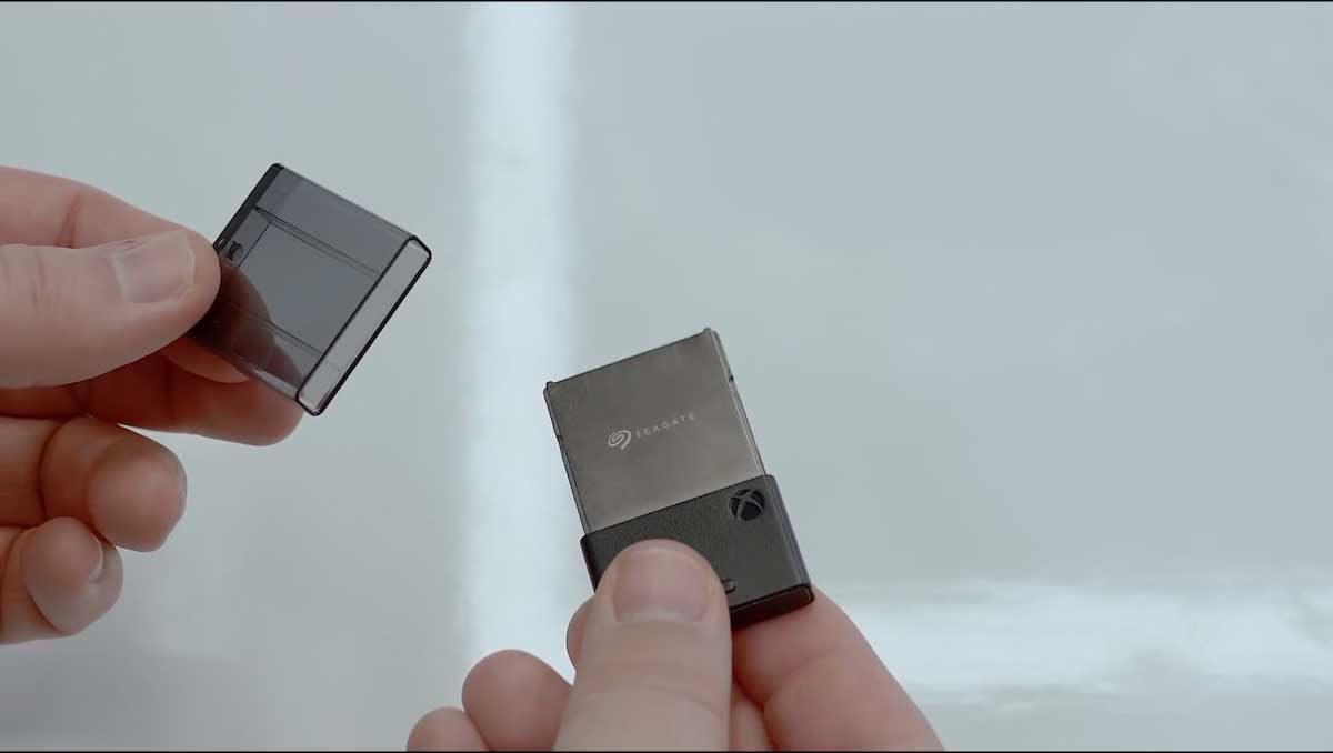 Xbox Series X expandable storage