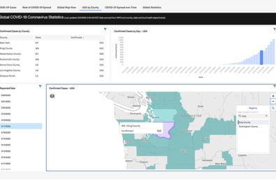 IBM launches an interactive dashboard to track coronavirus on phone and the web 1