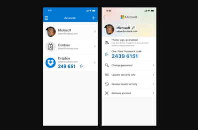 Latest Microsoft Authenticator app update allows you to change account password and more 7