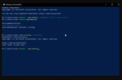 Microsoft announces PowerShell 7, the latest major update to PowerShell 1