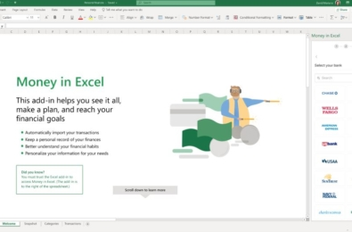 This new fintech startup is behind Microsoft's Money in Excel feature 1